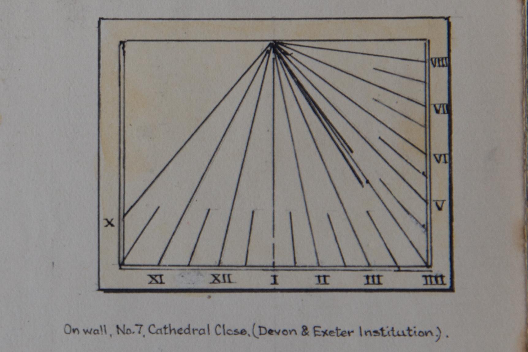 Devon and Exeter Institution Sundial