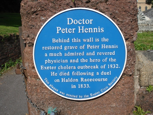 Dr Peter Hennis | St Sidwell's Churchyard, Sidwell Street