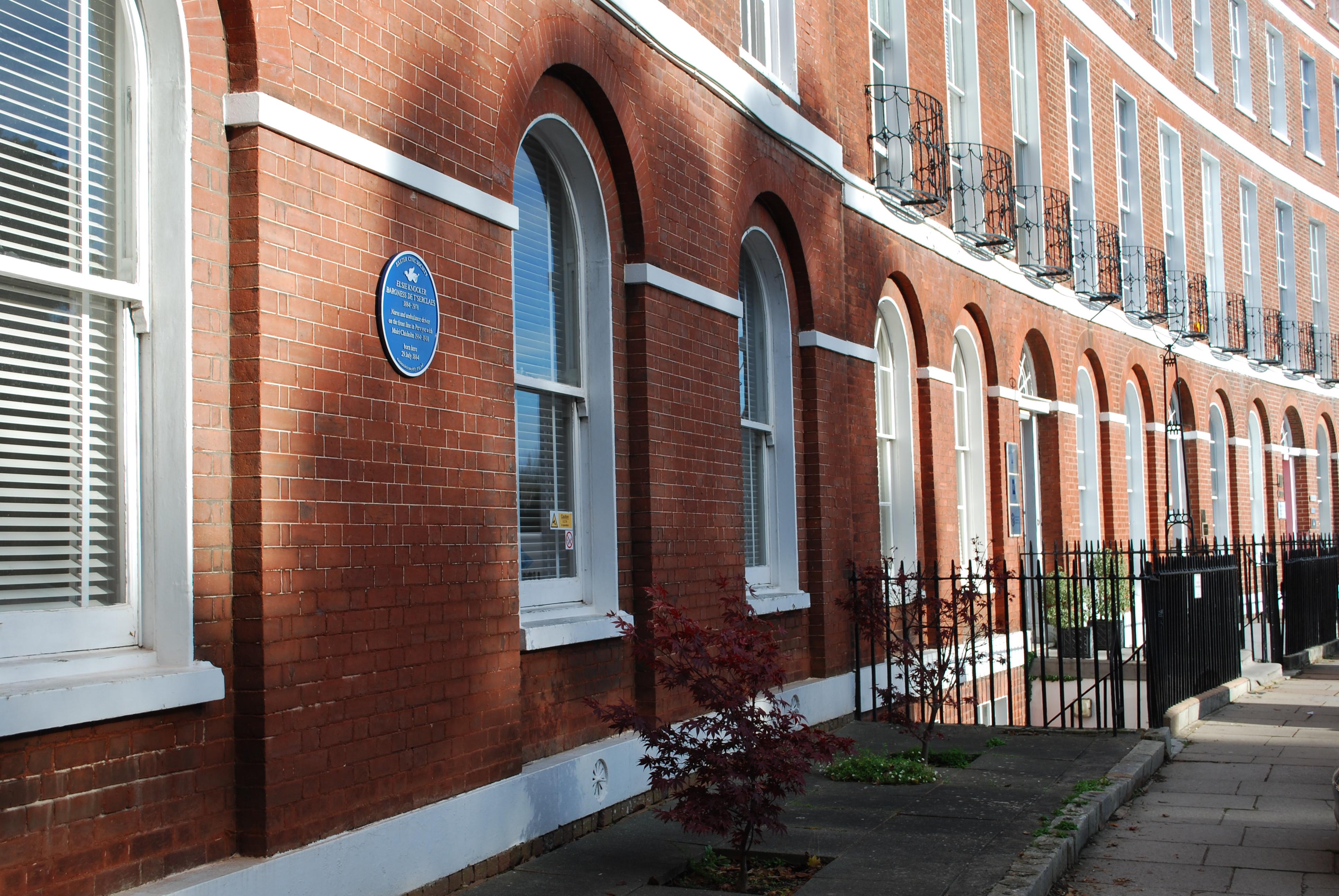 Elsie Knocker | 1 Barnfield Crescent