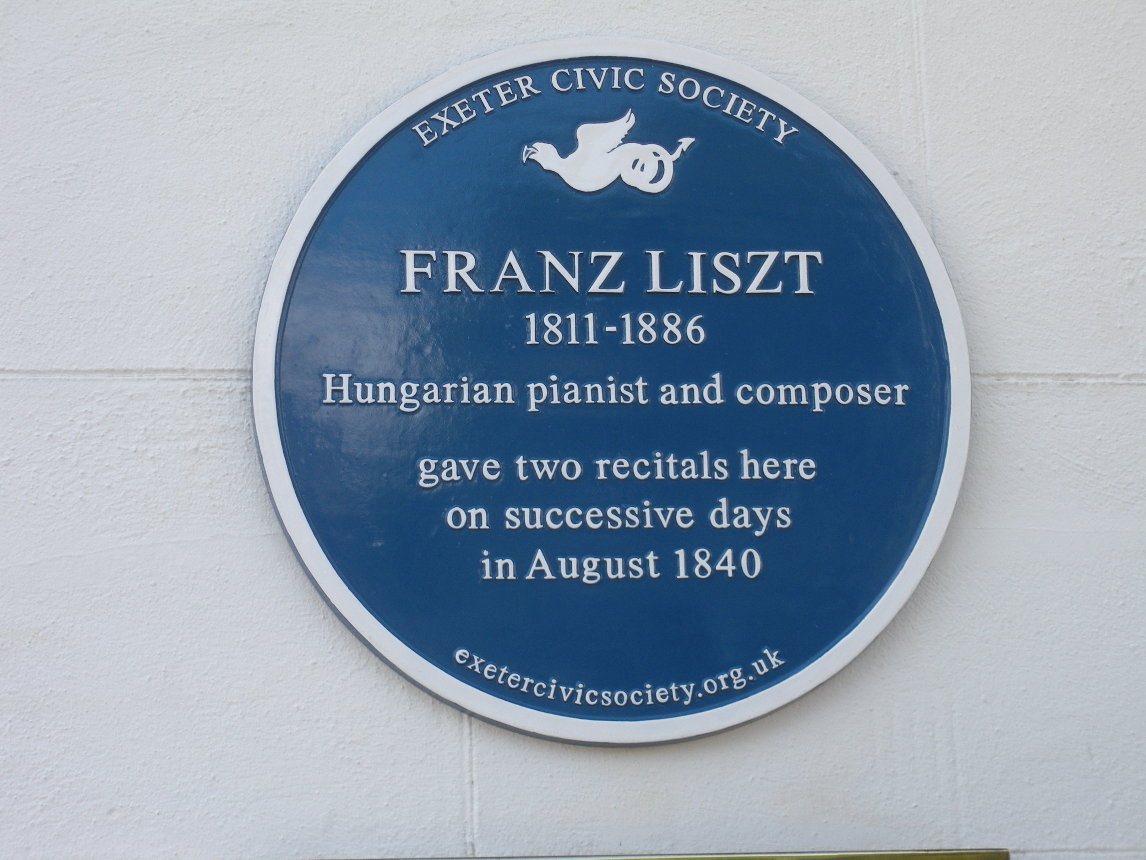 Franz Liszt | Royal Clarence Hotel, Cathedral Yard