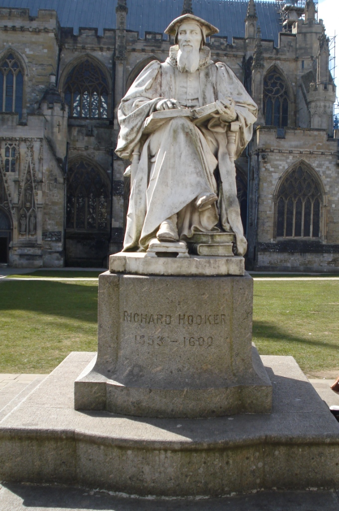 Richard Hooker | Exeter Cathedral Green