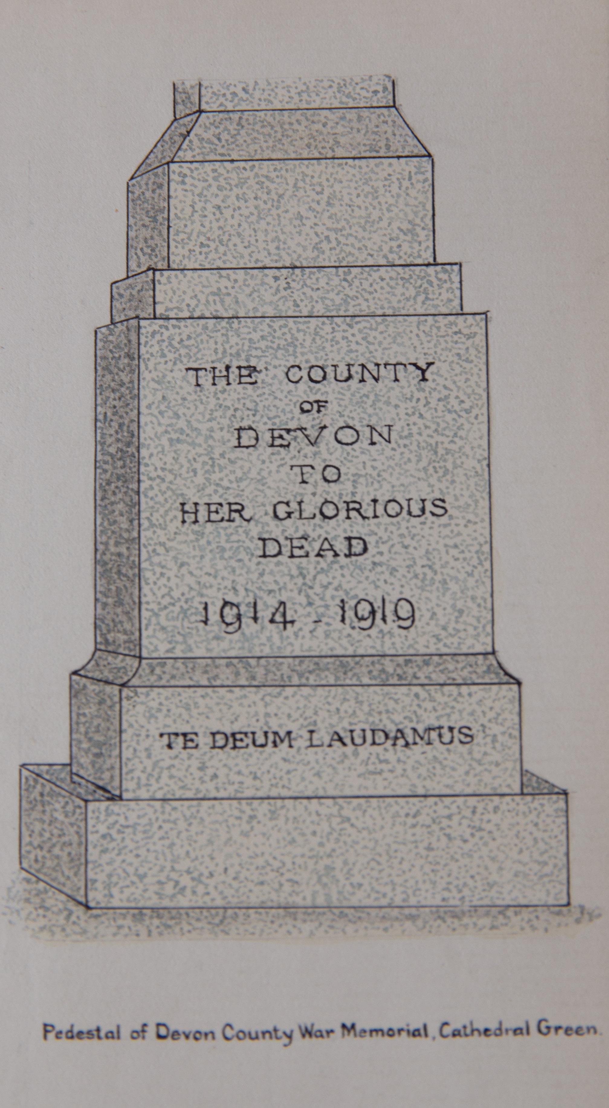 The Devon War Memorial