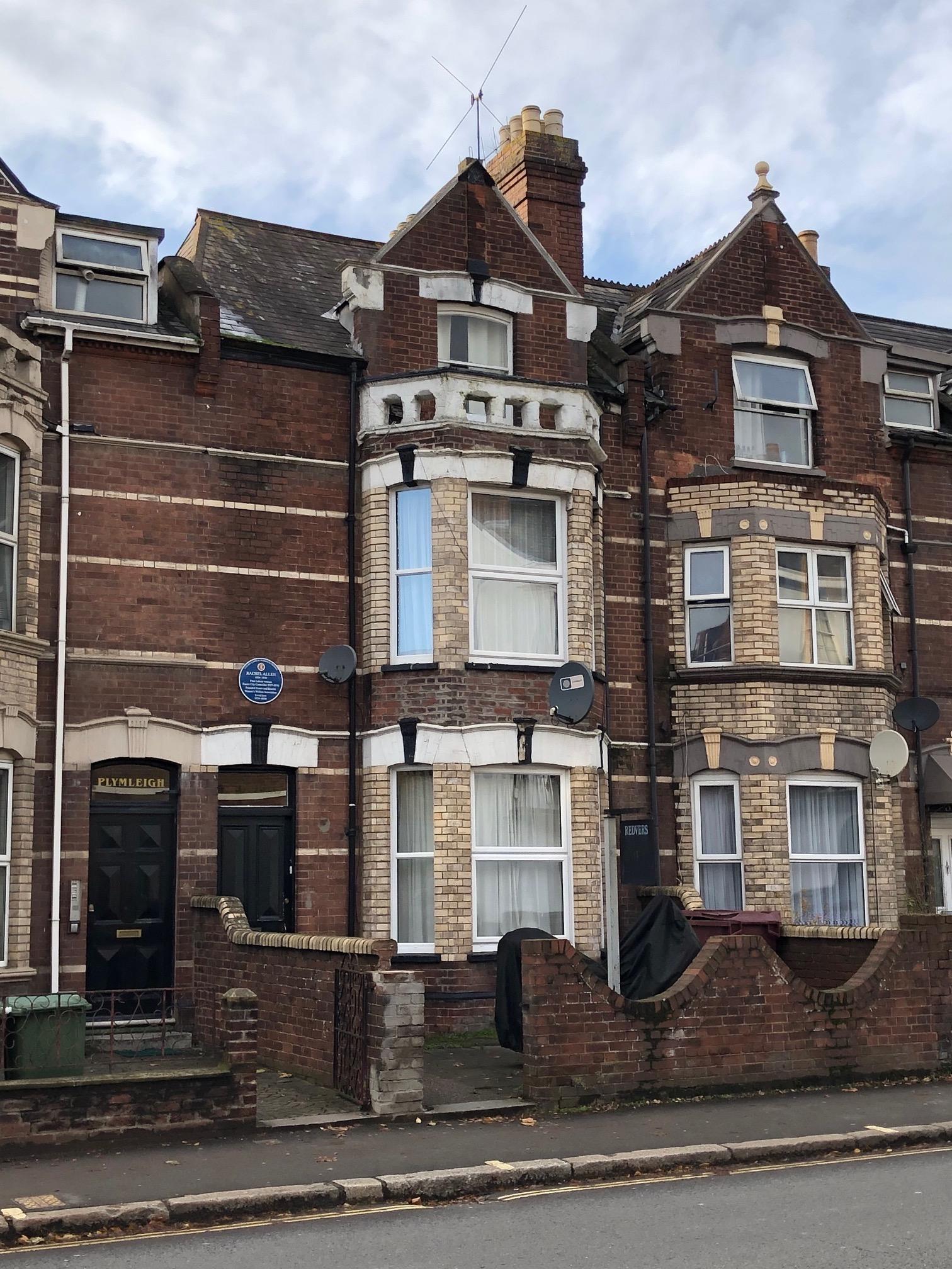 Rachel Allen | Redvers, Alphington Street, St Thomas