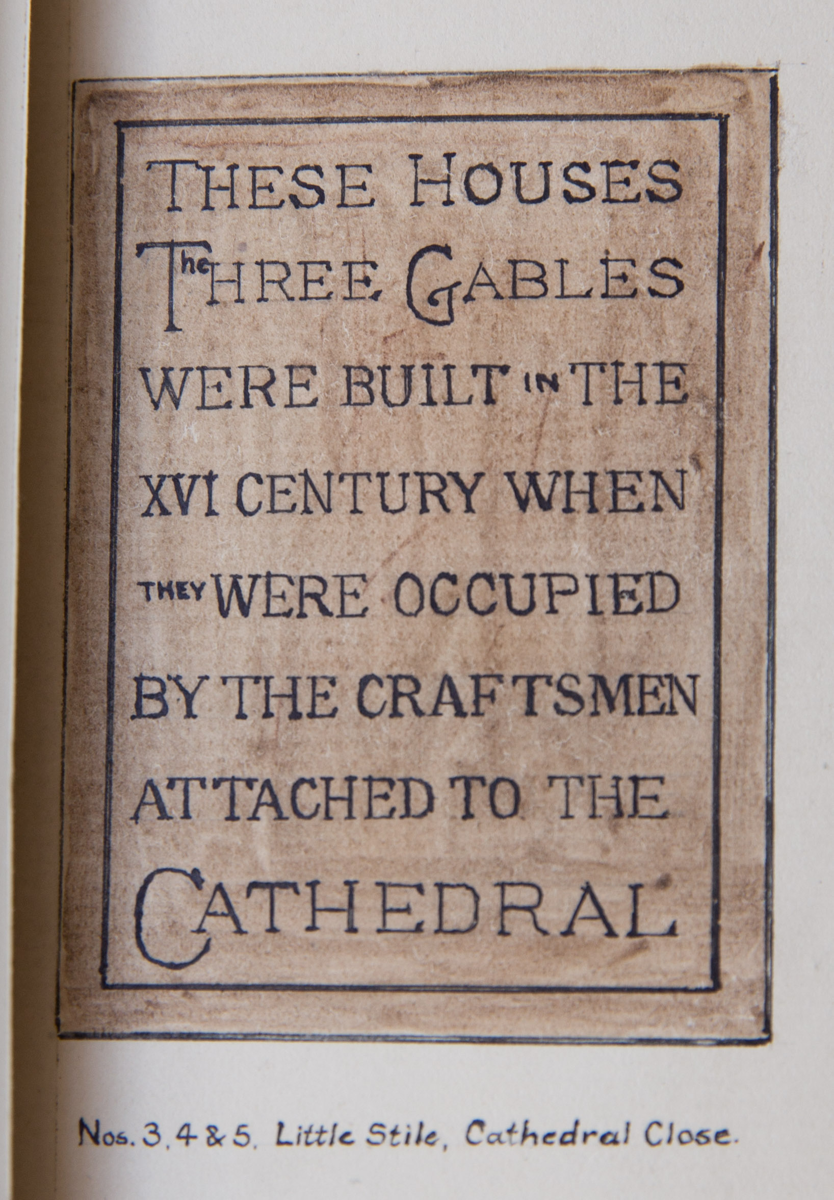The Three Gables