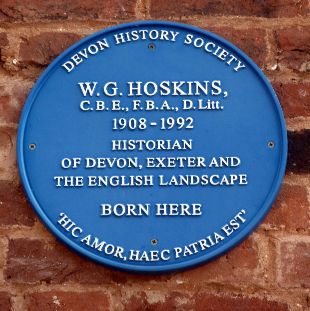 W. G. Hoskins | St David's Hill
