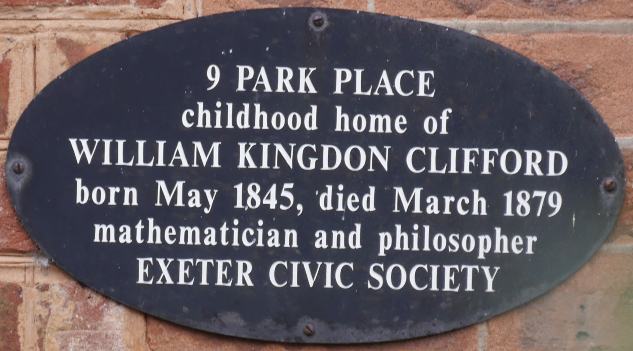 William Kingdon Clifford | 82 Longbrook Street