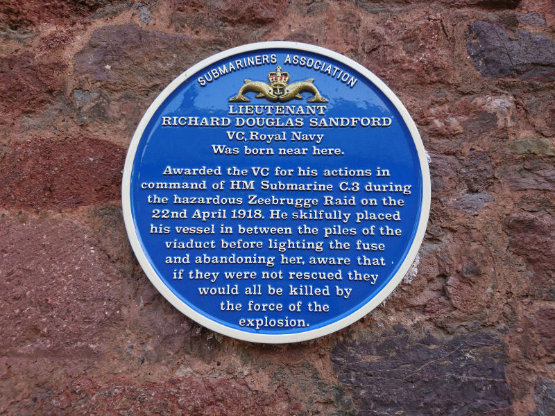 Zeebrugge plaque